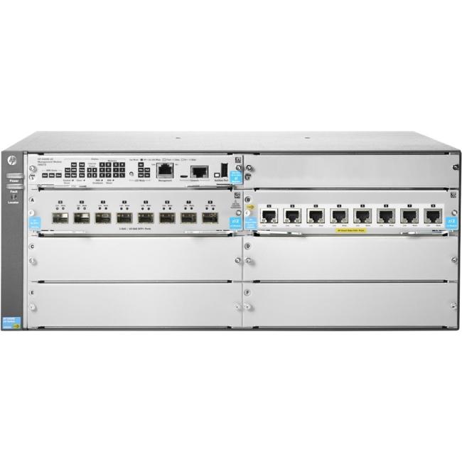 HP (No PSU) v3 zl2 Switch JL002A 5406R 8-port 1/2.5/5/10GBASE-T PoE+/ 8-port SFP