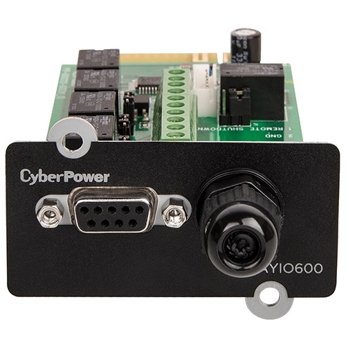 CyberPower OL Series Management Card, 5-Output 1-Input Contact Closures RELAYIO600