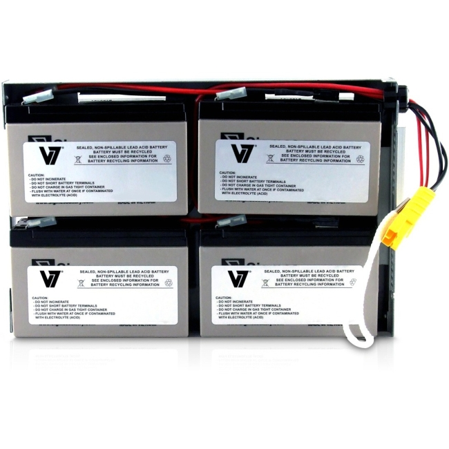 V7 RBC24 UPS Replacement Battery for APC RBC24-V7