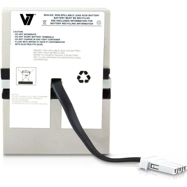 V7 RBC32 UPS Replacement Battery for APC RBC32-V7