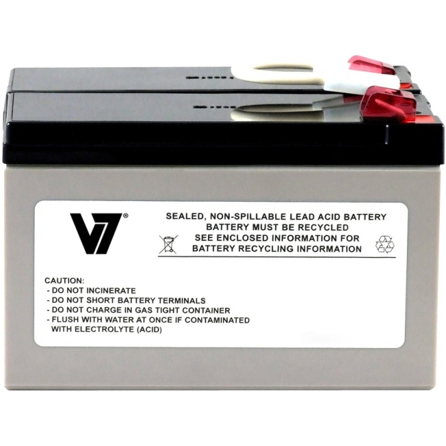 V7 RBC109 UPS Replacement Battery for APC APCRBC109 APCRBC109-V7