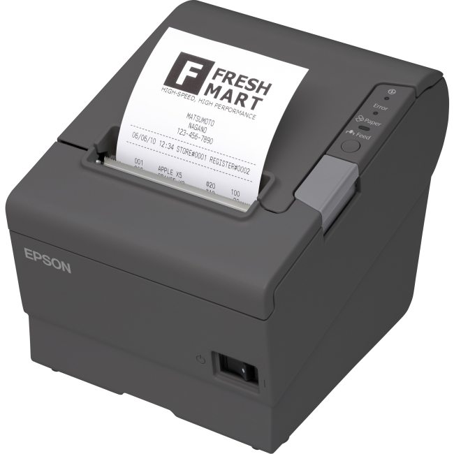 Epson POS Receipt Printer C31CA85A6641 TM-T88V