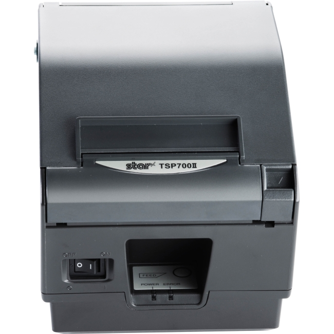Star Micronics Direct Thermal Printer 37963941 TSP743IIWEBPRNT GRY