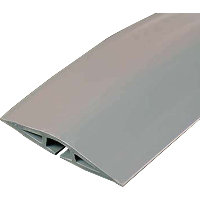 C2G 15ft Wiremold Corduct Overfloor Cord Protector - Gray 16326