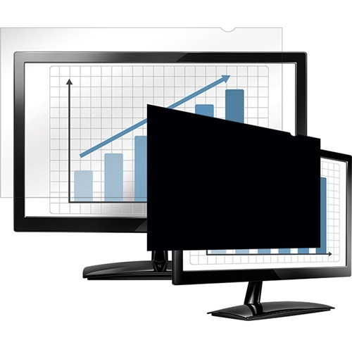 """Fellowes PrivaScreen Blackout Privacy Filter 19.5"""" Wide 4815801"""