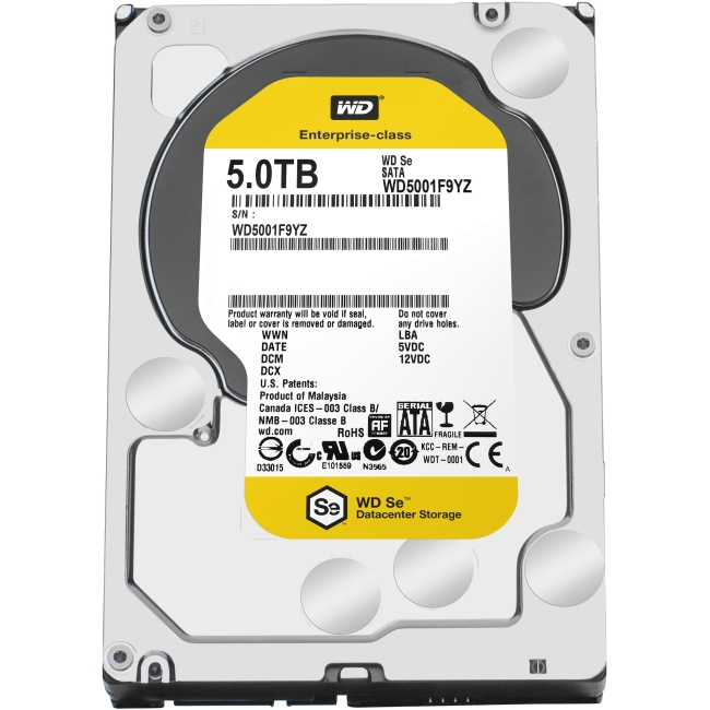 Western Digital Se Datacenter Capacity HDD WD5001F9YZ