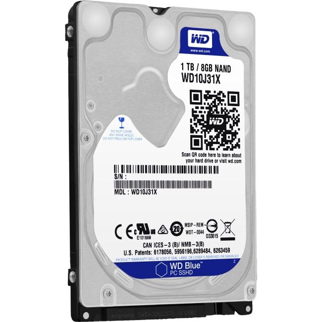 Western Digital Blue 1 TB 2.5-inch SSHD WD10J31X