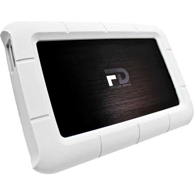 Fantom Drives Robusk Mini 1TB 7200 RPM USB 3.0 Metal Portable Shock-Resistant Hard Drive FRM1000P
