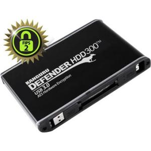 Kanguru Defender SSD300 - Encrypted USB3.0 Solid State Drive-FIPS 140-2-1T KDH3B-300F-1TS