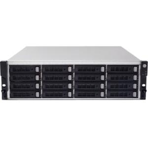 Sans Digital AccuRAID - 3U 16 Bay 6xGbE iSCSI to SAS/SATA RAID Rackmount System ST-SAN-AR316T6V AR316T6V