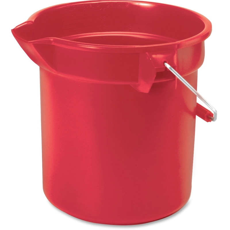 Rubbermaid Commercial Brute Round Utility Bucket 261400RD RCP261400RD