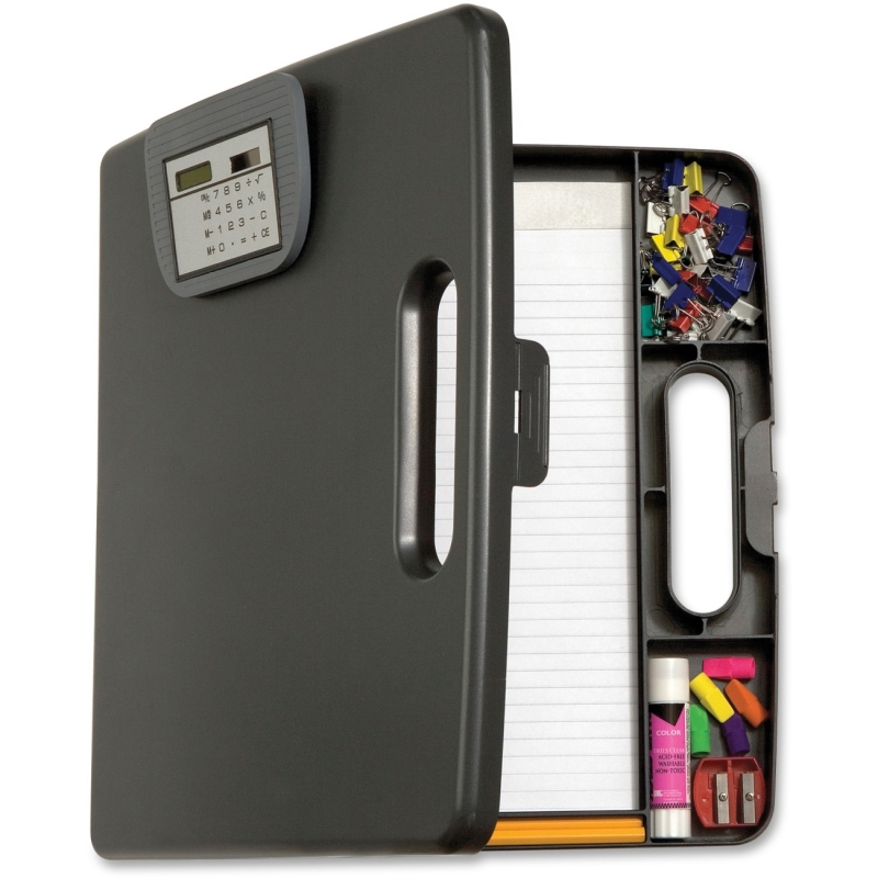 OIC Portable Cliboard Case w/Calculator 83372 OIC83372