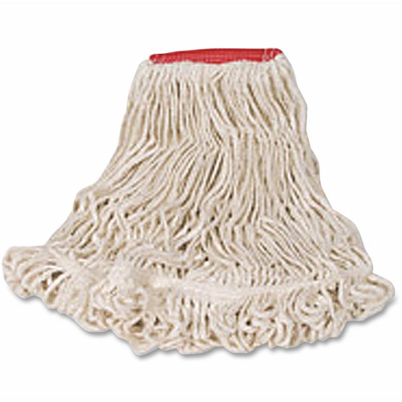 Rubbermaid Super Stitch Cotton Synthetic Mop D21306WH00 RCPD21306WH00