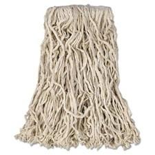 Rubbermaid Economy Cut-End Cotton Wet-Mop Head FGV11600WH00 RCPV116 V116