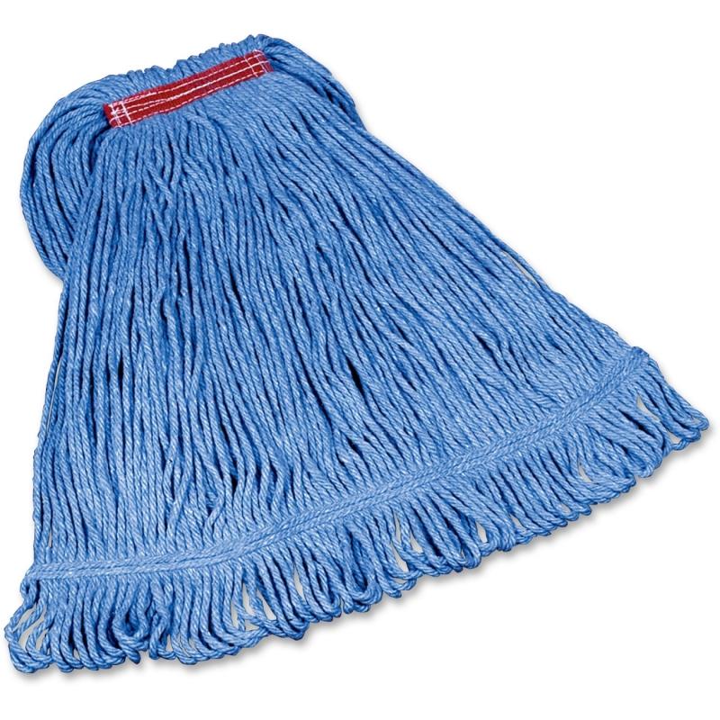 Rubbermaid Commercial Super Stitch Cotton Synthetic Mop D21306BL00 RCPD21306BL00