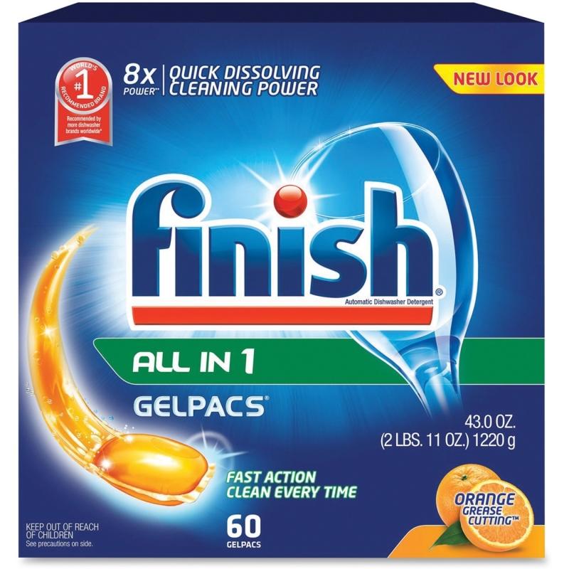 Finish Gelpac Dishwasher Detergent 81181 RAC81181