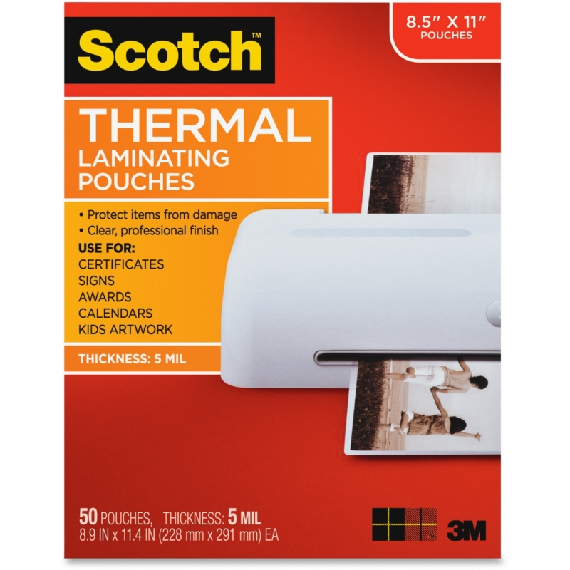 Scotch Thermal Laminating Pouches TP585450 MMMTP585450