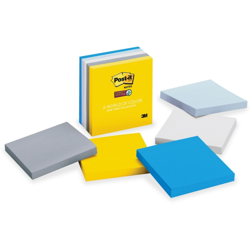 Post-it New York Collection Super Sticky Notes 6545SSNY MMM6545SSNY