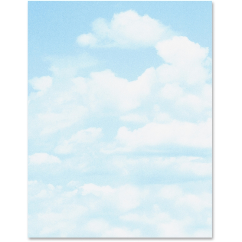 Geographics Clouds Design Printable Paper 46887S GEO46887S