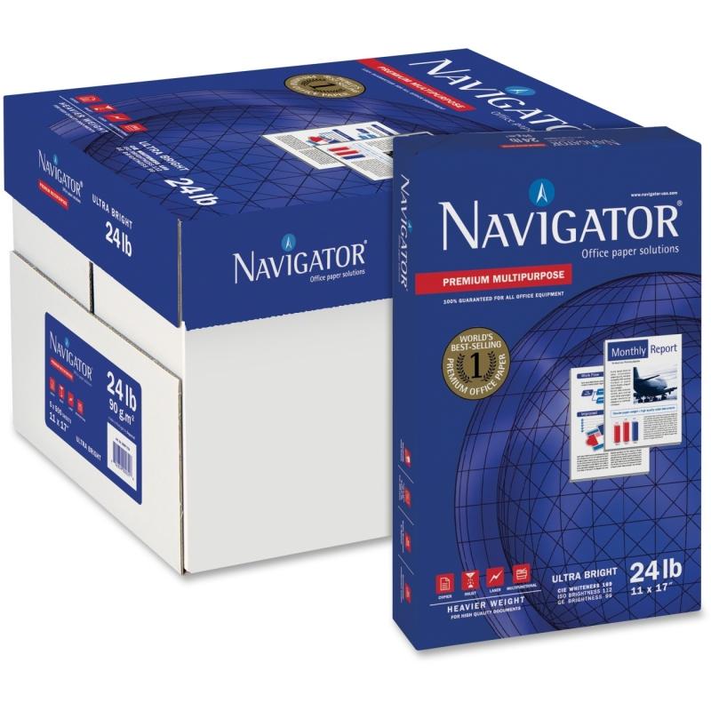 Navigator Premium Multipurpose 24 lb. Paper NMP1724 SNANMP1724