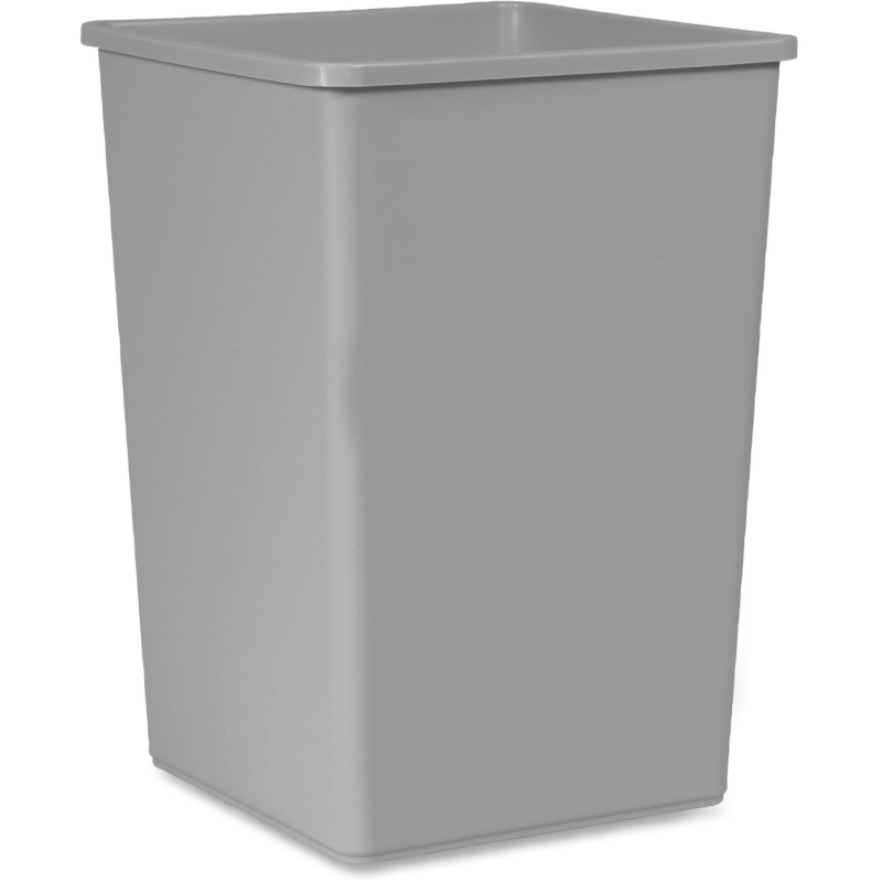 Rubbermaid Untouchable Square 35-gal Container 3958GY RCP3958GY