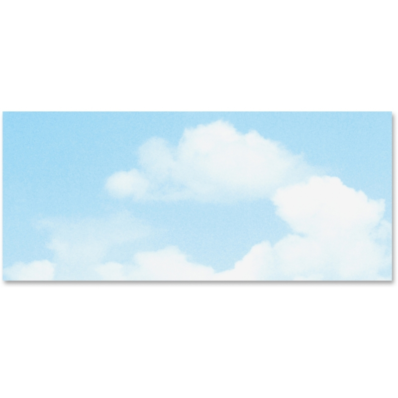 Geographics No. 10 Clouds Printable Envelopes 47371S GEO47371S