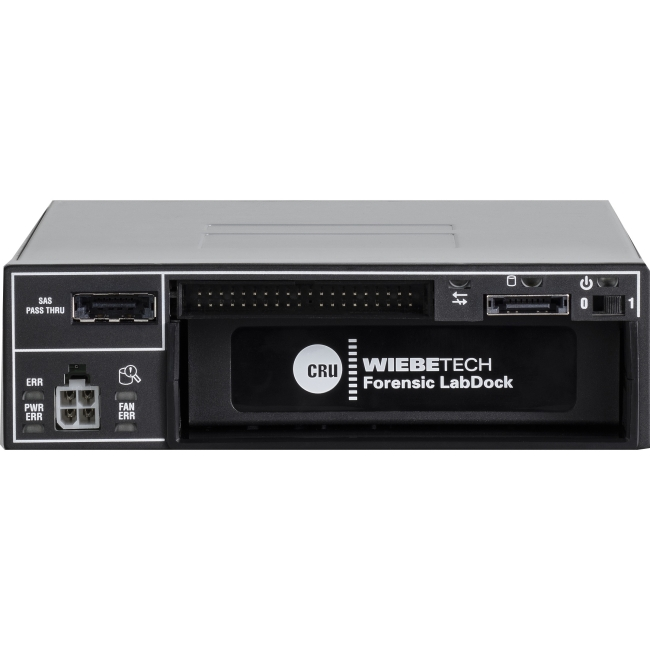 CRU Forensic LabDock Drive Dock 31340-0409-0000 S5