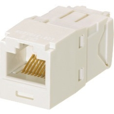 Panduit Category 6, RJ45, 8-position, 8-wire Universal Module CJ688TGAW