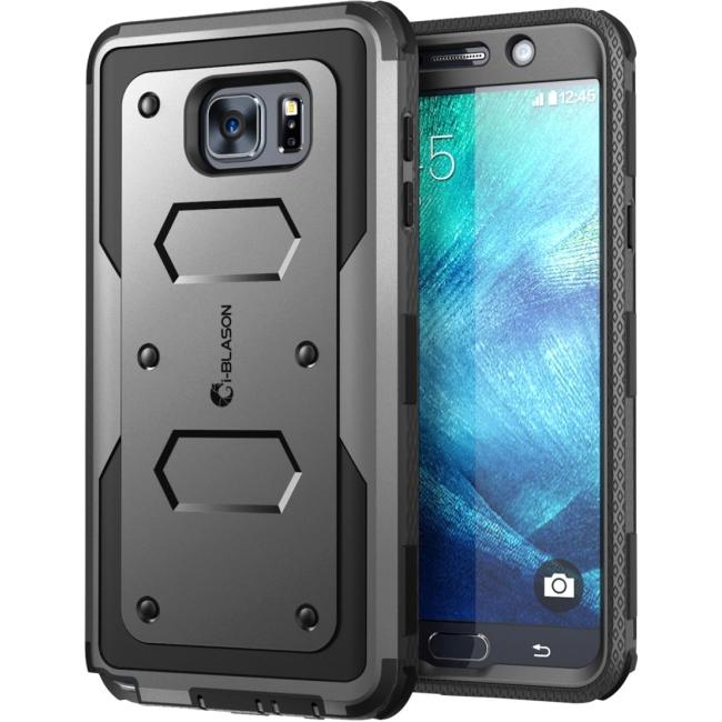 i-Blason Galaxy Note 5 Armorbox Dual Layer Full Body Protective Case NOTE5-AB-BLACK