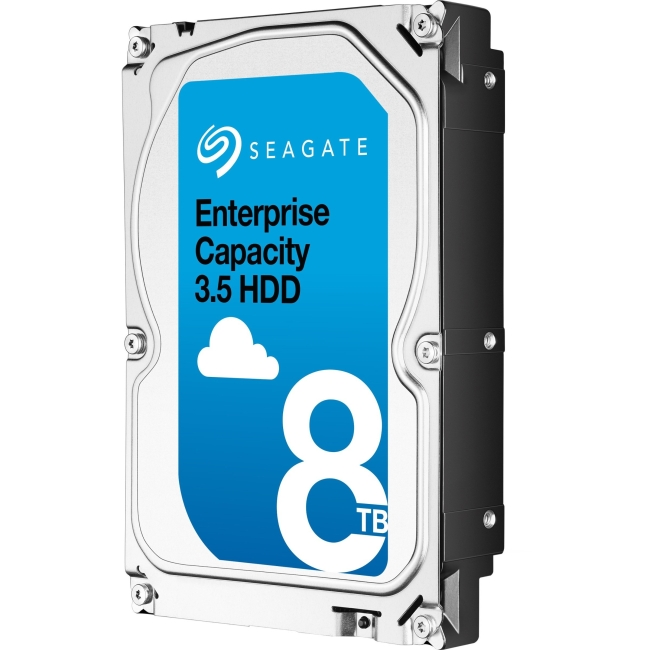 Seagate Enterprise Capacity 3.5 HDD SAS 12Gb/s 4KN SED 8TB Hard Drive ST8000NM0095