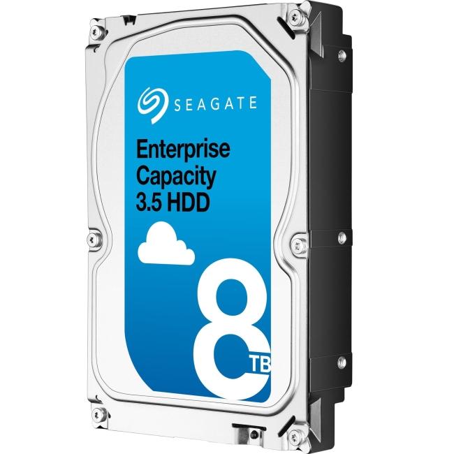 Seagate Enterprise Capacity 3.5 HDD SATA 6Gb/s 512E SED 8TB Hard Drive ST8000NM0105