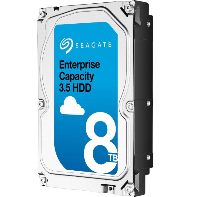 Seagate Enterprise Capacity 3.5 HDD SATA 6Gb/s 4KN SED 8TB Hard Drive ST8000NM0115