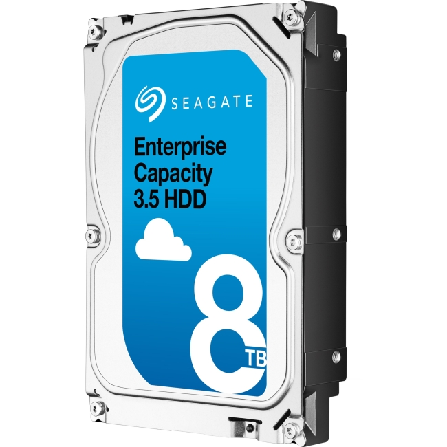 Seagate Enterprise Capacity 3.5 HDD SAS 12Gb/s 4KN SED 8TB Hard Drive ST8000NM0095-20PK ST8000NM0095