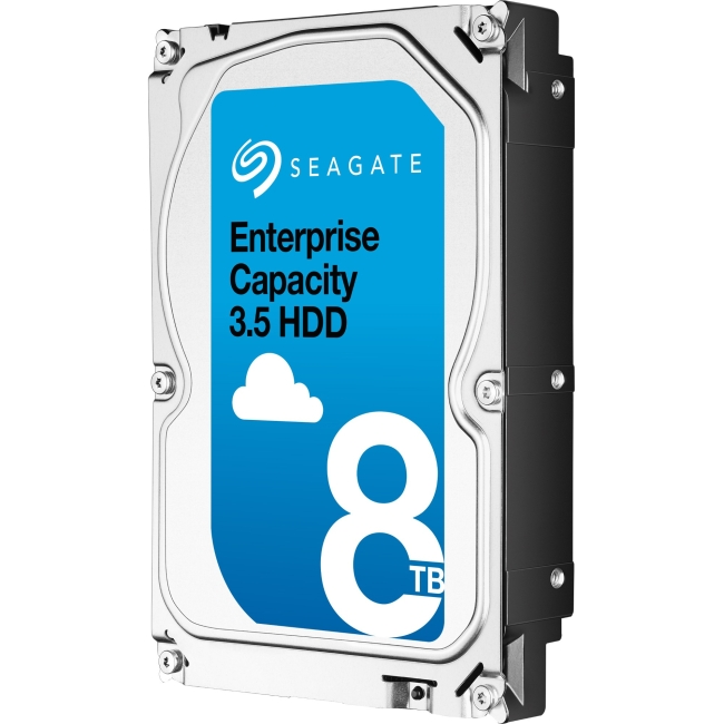 Seagate Enterprise Capacity 3.5 HDD SATA 6Gb/s 512E SED 8TB Hard Drive ST8000NM0105-20PK ST8000NM0105