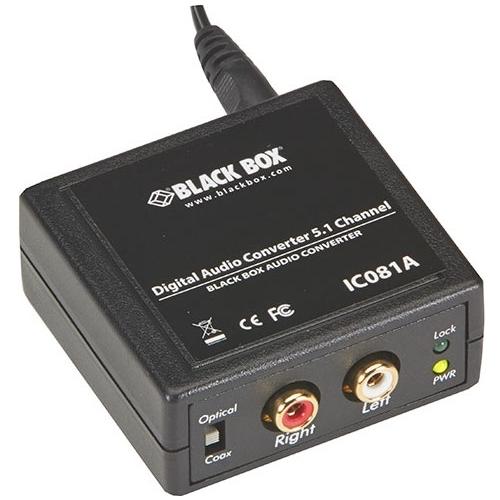 Black Box Digital Audio Converter - 5.1 Channel IC081A