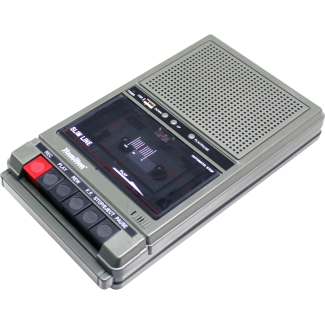 Hamilton Buhl Cassette 1 Watt 2 Jacks - Built In Condenser Mic HA-802