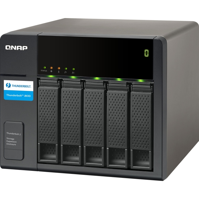QNAP Thunderbolt Storage Expansion Enclosure for Thunderbolt NAS TX-500P-US TX-500P