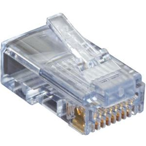 Black Box CAT5e EZ-RJ45 Modular Plugs, 50-Pack C5EEZUP-50PAK