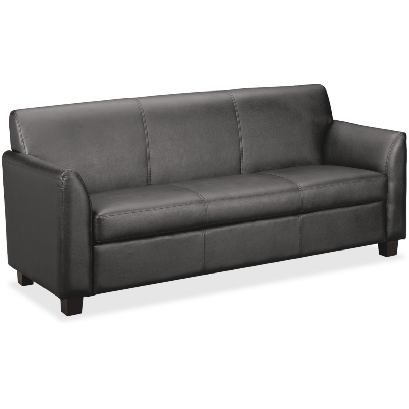 Basyx by HON Leather Club Lounge Seating VL873SB11 BSXVL873SB11