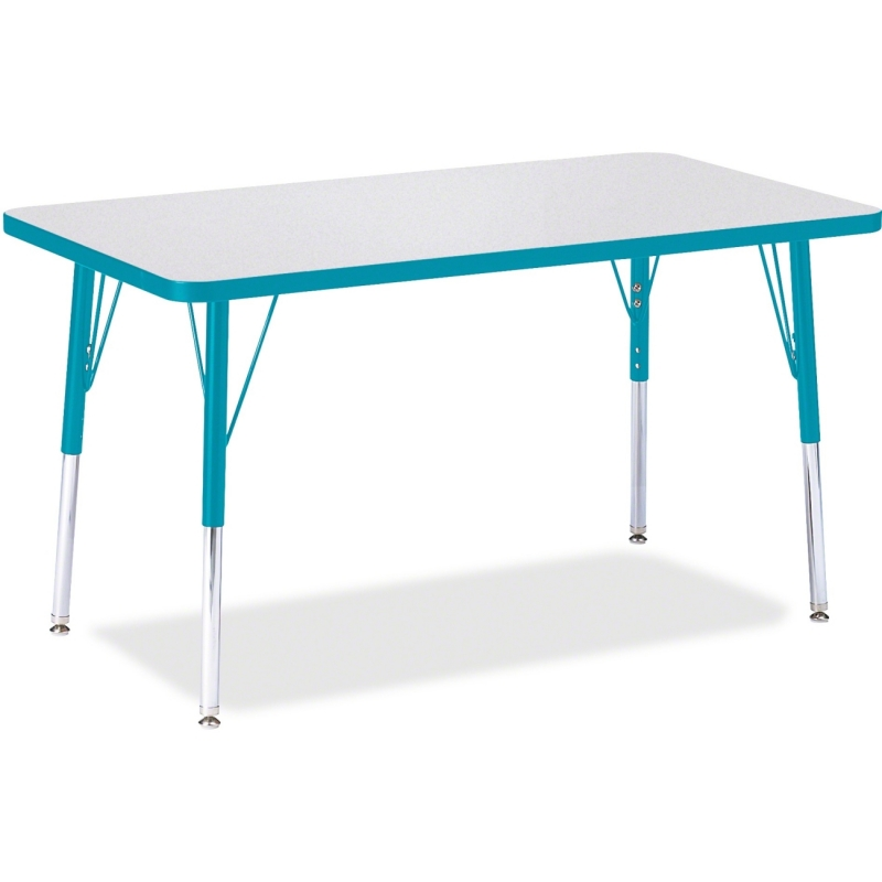 Berries Adult Height Color Edge Rectangle Table 6478JCA005 JNT6478JCA005