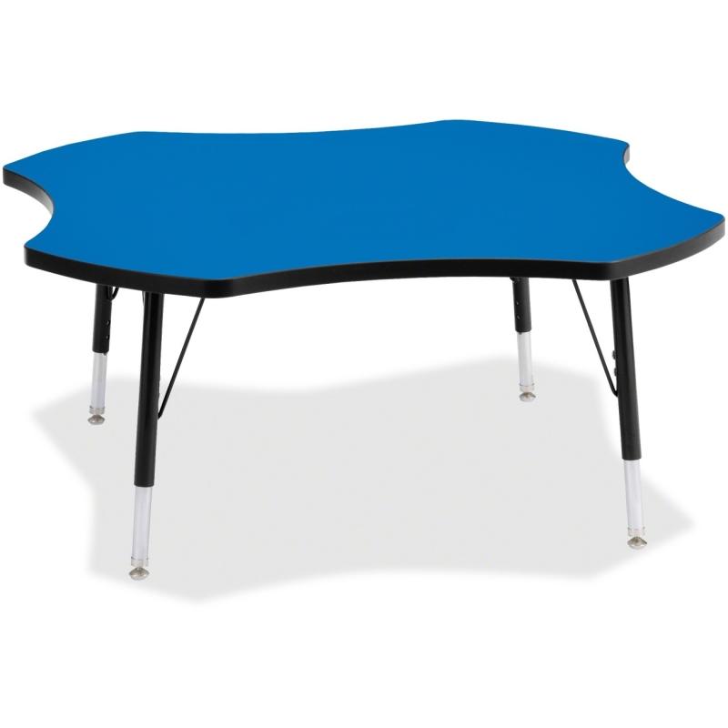 Berries Toddler Black Edge Four-leaf Table 6453JCT183 JNT6453JCT183