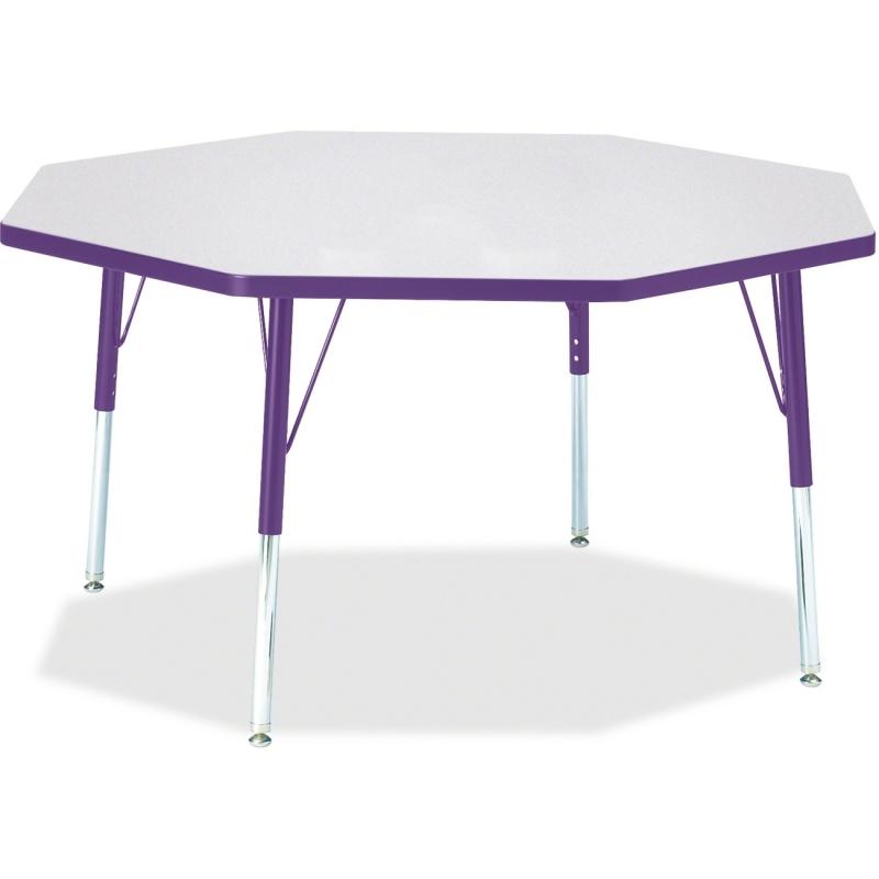 Berries Elementary Height Color Edge Octagon Table 6428JCE004 JNT6428JCE004