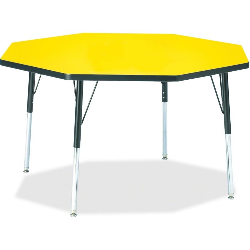 Berries Adult Height Color Top Octagon Table 6428JCA187 JNT6428JCA187