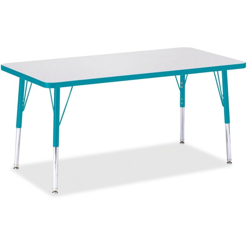 Berries Elementary Height Color Edge Rectangle Table 6403JCE005 JNT6403JCE005