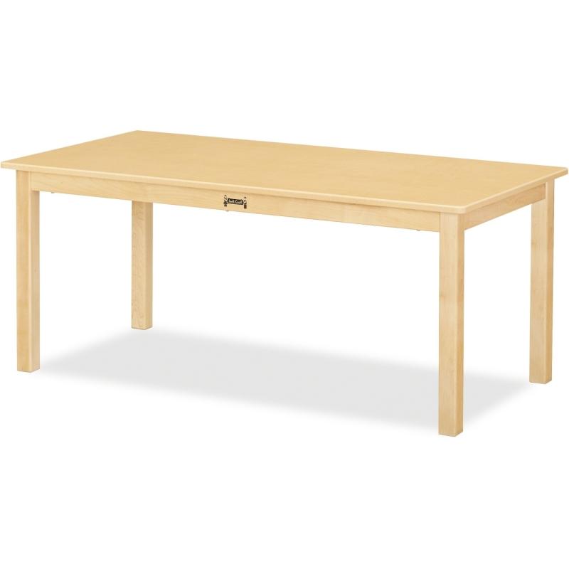 Jonti-Craft Multi-purpose Maple Large Rectangle Table 56816JC JNT56816JC