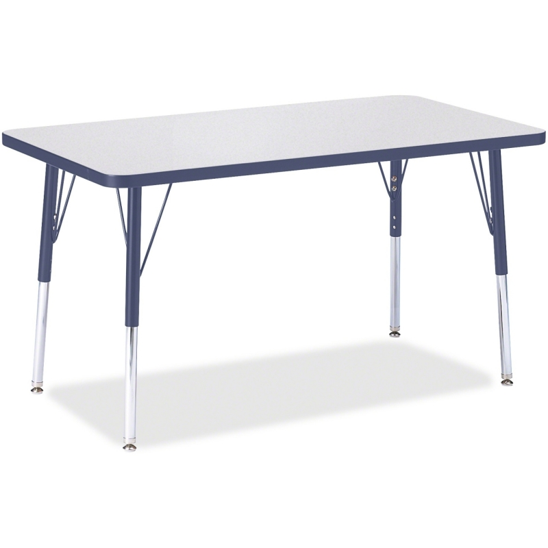 Berries Adult Height Color Edge Rectangle Table 6478JCA112 JNT6478JCA112