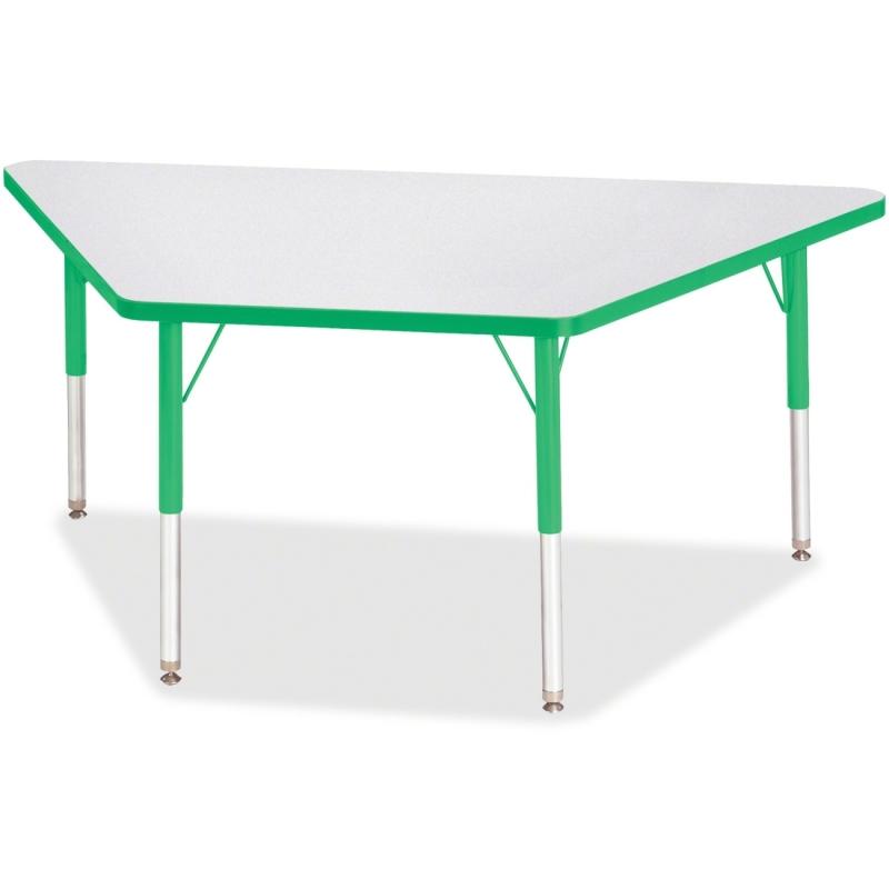 Berries Elementary Height Prism Edge Trapezoid Table 6443JCE119 JNT6443JCE119