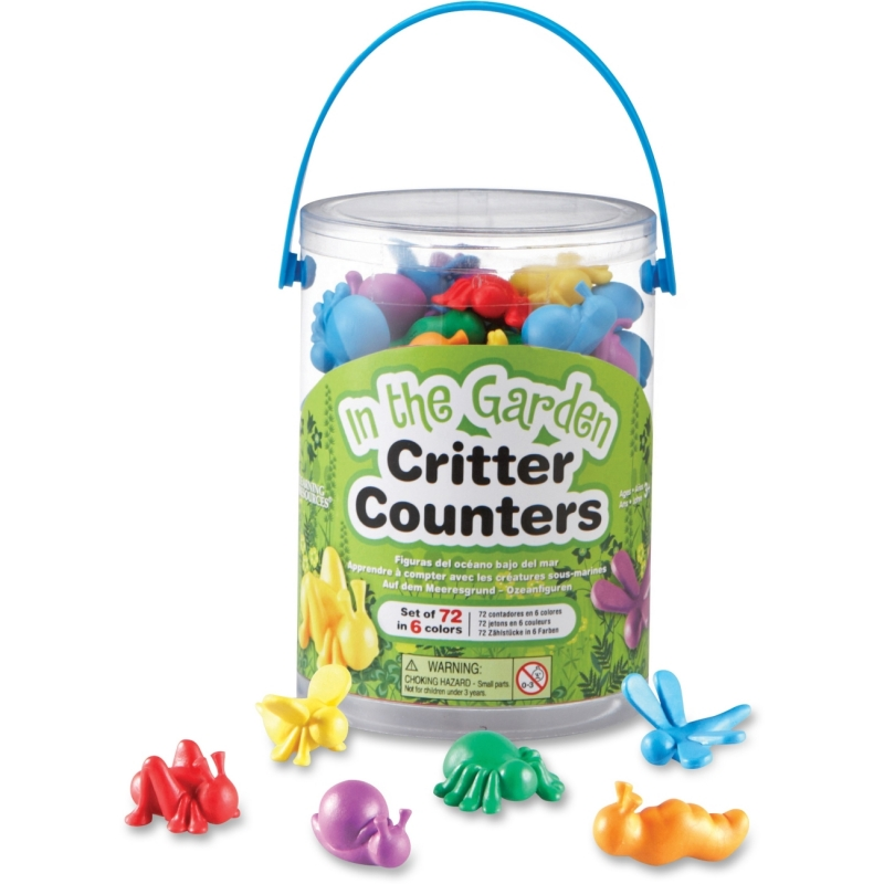 Learning Resources In The Garden Critter Counters LER 3381 LRNLER3381