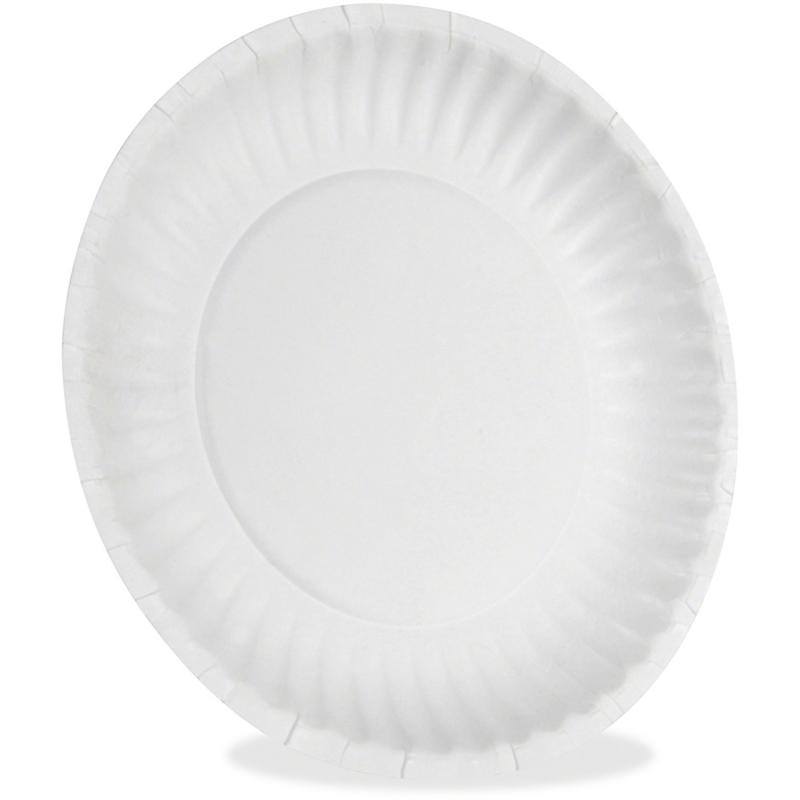 Dixie Dixie Economical White Paper Plates 15009902 DXE709902WNP9