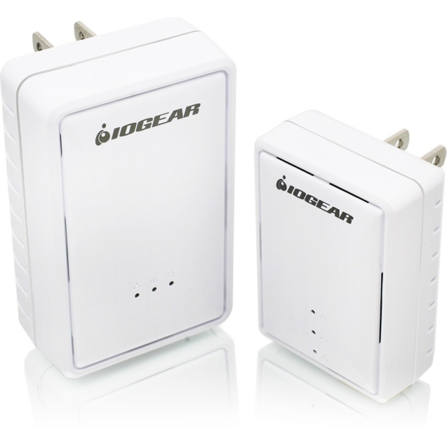 Iogear Powerline Wireless Extender Kit GPLWEKIT